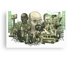 Breaking Bad Periodic Table Canvas Print