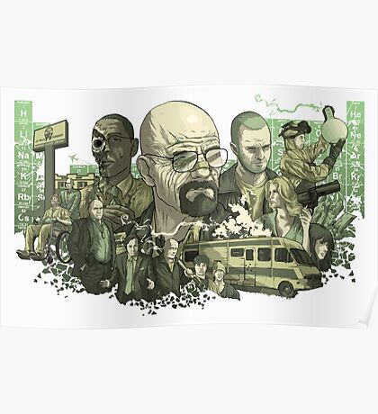 Breaking Bad Periodic Table Poster