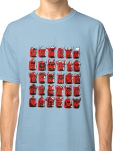 Wee Helmeted Red Folk Classic T-Shirt