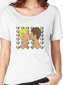 Sweethearts Gay Kiss! Women's Relaxed Fit T-Shirt