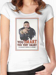 DJ KHALED [4K] Women's Fitted Scoop T-Shirt