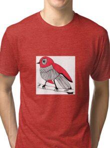 red bird Tri-blend T-Shirt