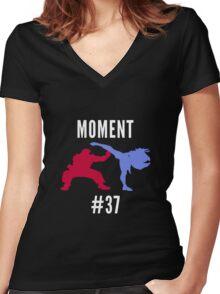 Evo Moment #37 Women's Fitted V-Neck T-Shirt