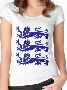Three Lions Women's Fitted Scoop T-Shirt