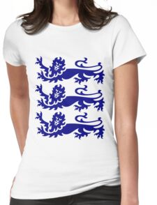 Three Lions Womens Fitted T-Shirt