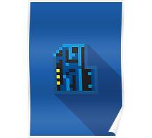 Doom Key: Blue Poster