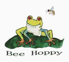 Bee Hoppy Tee by Robin Monroe
