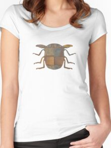 Insect Texture Outline 4 Women's Fitted Scoop T-Shirt