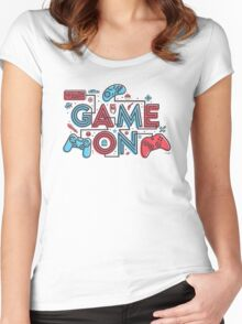Game On Women's Fitted Scoop T-Shirt