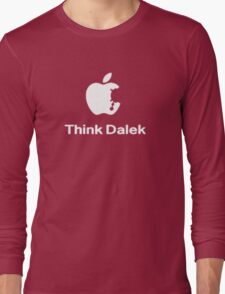 Think Dalek  Long Sleeve T-Shirt