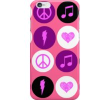 Music Polka Dots For Music Lovers iPhone Case/Skin