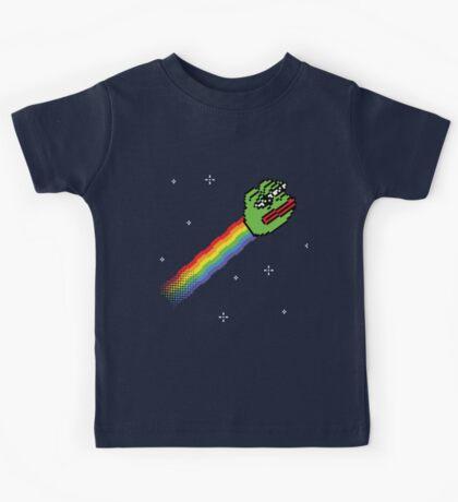 Nyan Pepe Meme Mash Up Kids Tee