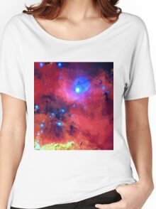 Our Colorful Universe Women's Relaxed Fit T-Shirt