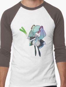 Hatsune Kirlia Men's Baseball ¾ T-Shirt