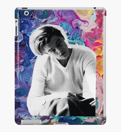 Young Leonardo DiCaprio Art iPad Case/Skin