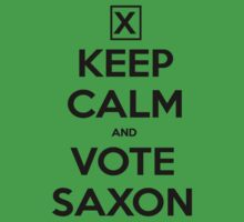 Vote Saxon - White Kids Clothes