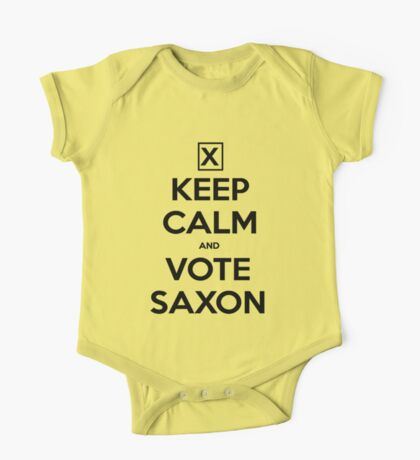 Vote Saxon - White Kids Clothes