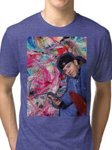 Marky Mark Wahlberg beauty art  Tri-blend T-Shirt