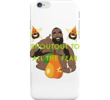 I JUST PEAR NOW iPhone Case/Skin