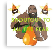 I JUST PEAR NOW Metal Print