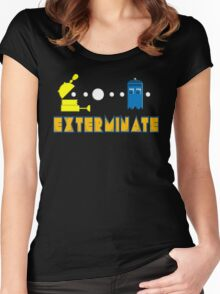 PAC DALEK Women's Fitted Scoop T-Shirt