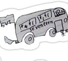 SEVENTEEN Jun's drawing Sticker