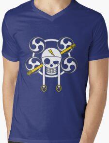 One piece Mens V-Neck T-Shirt