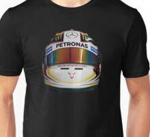 lewis Hamilton helmet front Unisex T-Shirt