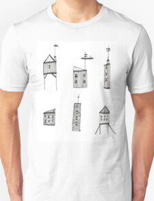 A Collection of Buildings Unisex T-Shirt
