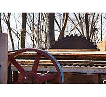 Saw Mill Photographic Print