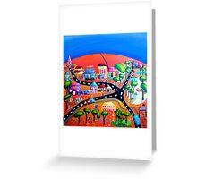 Silverton, NSW, Outback Australia Greeting Card