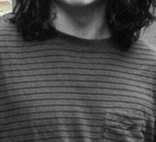 Young Johnny Depp Art Sticker