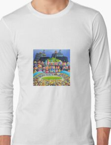 St Pat's Race Day, Broken Hill, Outback Australia Long Sleeve T-Shirt