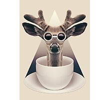 Caffeinimals: Deer Photographic Print