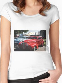 Classic Cars Women's Fitted Scoop T-Shirt