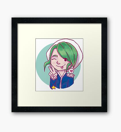 Gym Leader Wallace (Anime) Framed Print