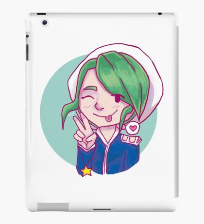 Gym Leader Wallace (Anime) iPad Case/Skin