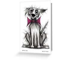 Barney dog Greeting Card