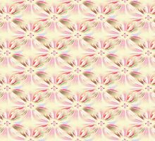 Floral Cream Pattern by lillianhibiscus
