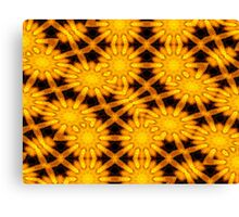 Sunflowers Abstract (read description) Canvas Print