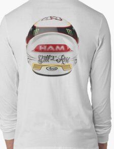 lewis Hamilton helmet rear Long Sleeve T-Shirt