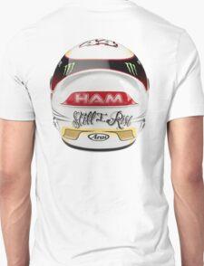 lewis Hamilton helmet rear Unisex T-Shirt