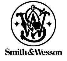 Smith & Wesson - Black Photographic Print