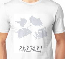 Map of Tenzing Unisex T-Shirt