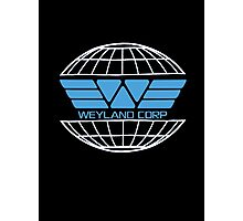 Weyland Corp Alien - Logo Photographic Print