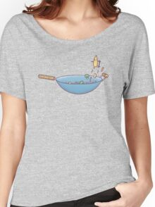 All wok and no play Women's Relaxed Fit T-Shirt