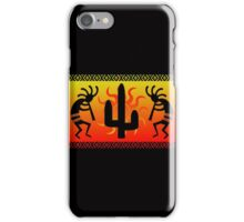 Southwest Desert Kokopelli Cactus iPhone Case/Skin