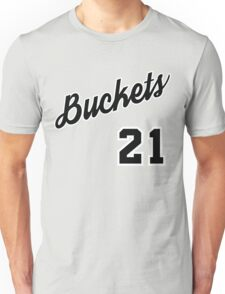 Jimmy G. Buckets Throwback Unisex T-Shirt