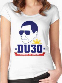 Duterte 2016 Women's Fitted Scoop T-Shirt