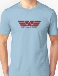 Weyland Corp Alien - Logo - Red Unisex T-Shirt